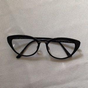 Ray-ban black cat eyeglasses